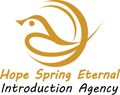 Hope Spring Eternal Introduction Agency Logo